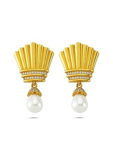 Reian Jewelry Sophıa-Gold Küpe Altın